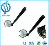 Voiture miroir d'inspection de sécurité avec une lampe de poche miroir