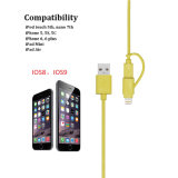 Charging (LC-CB2001)를 위한 1 USB Lighting Cable에 대하여 Mfi Certificate PVC Material 2