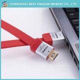 HDMI Zink-Legierungs-hohes Definition-Kabel 1.4 2.0 Ausgabe 4K 2160p Fernsehapparat