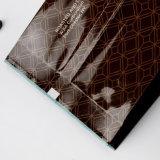 Мешок кофеего Gusset плоского дна раговорного жанра штейновым прокатанный алюминием с замком застежка-молнии/пластичным мешком упаковки с значением (ML-E23)
