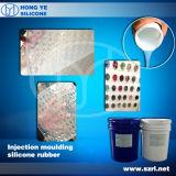 Gomma di silicone trasparente per il modanatura del diamante della resina