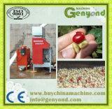 緑のコーヒー豆の皮機械