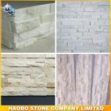 White puro Quartz Wall Cladding da vendere