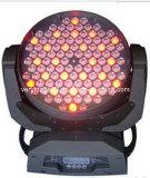O diodo emissor de luz novo 4 colore 108 partes que movem a luz principal da lavagem