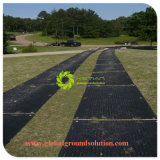 Trackwayまたはアクセス一時マットまたは一時進入路のマットまたは軽量の頑丈な合成のマット