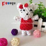 Oso encantador perro juguetes juguetes de cuerda
