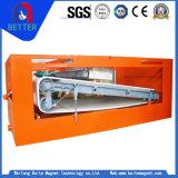 Séparateur magnétique permanent plat à haute intensité approuvé d'OIN Seprator pour le pouvoir de minerai/mica de fer/quartz/Limonite/faible magnétite