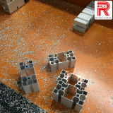 Perfiles de aluminio / aluminio de extrusión de procesamiento profundo Industrial