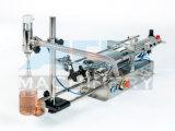 De halfautomatische Machine van het Flessenvullen van het Deeg van het Water Vloeibare