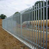 Revestimento a pó e galvanizados W paliçada de aço pálido cerca para a segurança