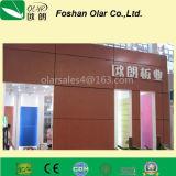 Доска фасада плакирования силиката кальция CE утвержденная декоративная