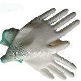13G белый провод фиолетового цвета с покрытием безопасности рабочие перчатки