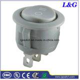 3 poste d'alimentation micro interrupteur à bascule de Push pour les chaudes des appareils de chauffage
