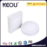Ce/RoHSの商業か屋内円形LEDの天井板ライト白フレーム
