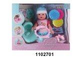 Mais novo brinquedo bebê lindo plástico mole 12''doll (102702)