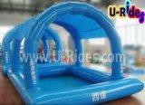 Hermético Carpa inflable Parque acuático con piscina para