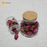 Glasspeicherglas mit Kappe für Nahrung oder Süßigkeit