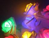 Solar de acrílico exterior impermeable de cadena de luz LED luces LED de Boda Regalo
