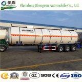 半原油のガソリン貯蔵タンクのトラックの燃料のタンカーのトレーラー