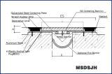 pavimento di gomma flessibile del giunto di dilatazione di disegno doppio della guarnizione di 100-300mm