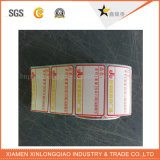 스티커 서비스 판매 황태자를 인쇄하는 Printer Label 접착성 전사술