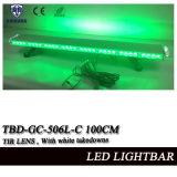 Montaggio LED Lightbar infiammante capo d'avvertimento verde del tetto del volante della polizia dell'obiettivo del Tir con le smontature e gli indicatori luminosi bianchi del vicolo