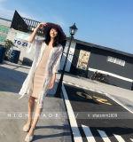 方法セクシーな女性の綿の長い袖の用品類カバーファクトリー・アウトレットのブラウス