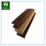 plastique en bois WPC de 50*50mm et plafond décoratif à la maison de PVC
