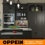 高品質の現代ラッカー木製の食器棚(OP15-L21)