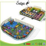 Профессиональный крытый гимнастический строитель парка Trampoline данка Slam скачки