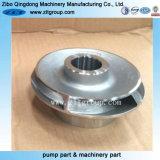 ステンレス鋼で機械で造るCNCの無くなったワックスの鋳造の水ポンプのインペラー