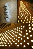Lanternes solaires avec bougie LED solaire C35 pour ampoules éclair E14