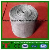 Rete metallica lavorata a maglia dei filtrante con figura esagonale del foro