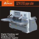 Boway 137cm 1370mm 8개의 프로그램 산업 두 배 유압 2개의 가이드 큰 종이 단두대