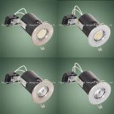 BS476 UK 시장을%s 강선전도 자물쇠 반지 화재 정격 LED Downlight