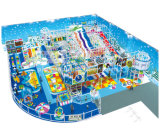 Cheer Amusement monde de glace sur le thème de terrain de jeux intérieure
