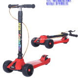 Cer Popualr Minirad-Kind-Stoß-Roller des kind-3 mit LED-Licht