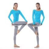 [هيغقوليتي] نمو نظام يوغا لباس مع كم طويلة