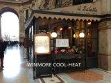 Aquecedor elétrico de aquecimento externo altamente eficiente para lugares abertos