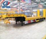 반 3개의 차축 확장 가능한 낮은 침대 또는 트럭 트레일러