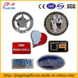 Costumbre esmalte suave placas de metal pin de solapa para regalos promocionales