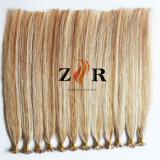 Не пролить не предотвращает спутывание волос Бразилии обращается с двойной человеческого волоса с плоским наконечником