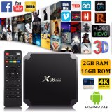 Android TV Box Amlogic S905W X96mini 2GB/16Gbit Full chargé Kodi IPTV Smart TV Box