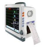 Alta pantalla táctil calificada monitor paciente del multiparámetro de 12.1 pulgadas