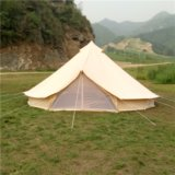 Im Freien 5m Bell Hinterzelt-Fallschirm-arabische Zelte für Verkauf