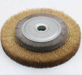깔깔한 면을 자르는 닦는 Wb4를 위한 주문을 받아서 만들어진 산업 솔 바퀴 솔