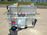 販売のための熱い浸された電流を通された移動式牛装置の子牛ボックス