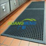 Переплетение резиновый коврик, Anti-Skidding резиновый коврик, резиновые коврики для установки внутри помещений отеля стока/Anti-Bacteria резиновый коврик