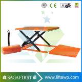 1ton 3ton hydraulische elektrische Ladung Scissor Ladeplatten-Aufzug-Plattform