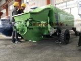 Bomba concreta pintada (con vaporizador) mojada de la máquina concreta del hormigón proyectado del motor diesel de Lovol 1004-4 y máquina concreta del aerosol